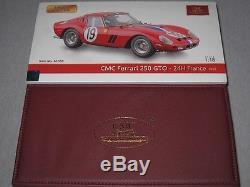 CMC Ferrari GTO, 24h France #19, 1962, M-155, Limitiert, OVP