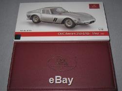 CMC Ferrari GTO, Silber, 1962, M-151, OVP