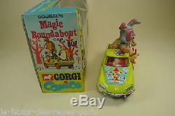 CORGI TOYS GB. CITROEN DS MAGIC ROUNDABOUT. + boite REF 807