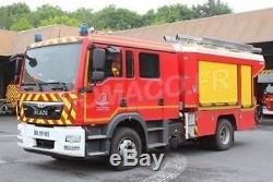 Camion Pompier MAN Gallin FPT Pompier SDIS 59 Alerte 068 1/43 Nouveau