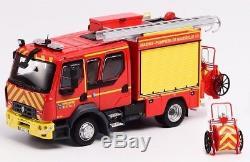 Camion Pompier Renault D12 FPTL BMPM Pompiers Mars 1/43 Nouveau Eligor 115944