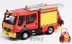 Camion Pompier Renault D12 FPTL Pompier SDIS 83 1/43 Nouveau Eligor 115945