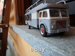 Camion Truck Om Iveco Fiat 642 Gila Modelli 1/43 Bisarca Bartoletti Ferrari