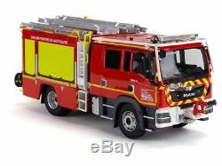 Camion de Sapeurs Pompiers MAN TGM GALLIN FPT TUNNEL DU MONT-BLANC SDIS 74 1/43