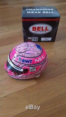 Casque Helmet Esteban Ocon Force India F1 VIP 1/2