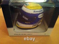 Casque Helmet Rosberg F1 Williams 2008 Minichamps 1/2