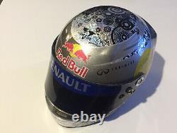 Casque Helmet Vettel F1 Redbull 2010 Arai 1/2
