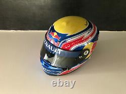Casque Helmet Webber F1 Redbull 2010 Arai 1/2
