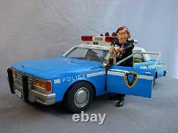 Chevrolet De Police Caprice Bleue Aroutcheff