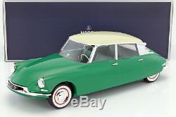 Citroen DS 19 année de construction 1956 vert / champagne 112 Norev