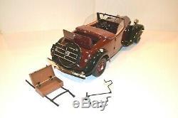 Citroën Traction Avant 11 BL Cabriolet 1939 Hachette Modèle monté E 1/8e