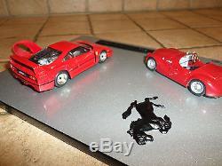 Coffret AMR 1/43 Ferrari 125S 1947 & F40 1987 40 ans de Ferrari