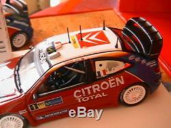 Coffret Citroen Xsara Wrc Triple Champion Monde Rallye 2003-4-5 Loeb Norev 1/43