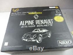 Coffret voiture radiocommandé, Alpine Renault A110 Berlinette Nikko, collector