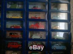 Collection complete des voitures de tintin