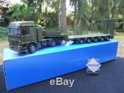 Conrad Militaire MB 6x4 + Semi 5 Essieux + Logo Conrad Offert Article Neuf Boite