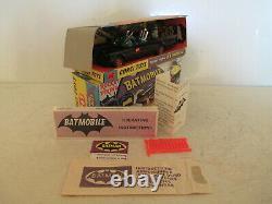 Corgi 267 Batmobile Red Bat Logo Wheels Mib 9 En Boite Corgi Gift Set 3 L@@k