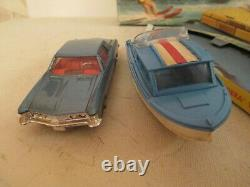 Corgi Gift Set 31 Gs31 Buick Riviera Boat Set Very Nicevnmib Proche Du 9 L@@k