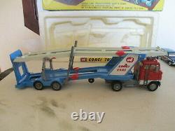 Corgi Gift Set 41 Gs41 Carrimore Car Transporter Ford Tilt Cab1138 Uncommonl@@k