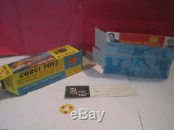 Corgi Toys #497 Jouet Ancien The Man From U. N. C. L. E. Neuf En Boite 1/43