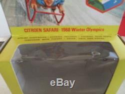 Corgi Toys 499 Citroen Grenoble 1968 Winter Olympics Mib 9 En Boite Nice L@@k