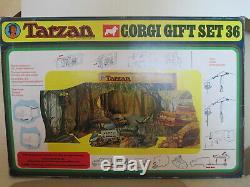 Corgi Toys Gift Set 36 Tarzan Set Gs36 Coffret Cadeau 36 Mib 9 En Boite Unopened