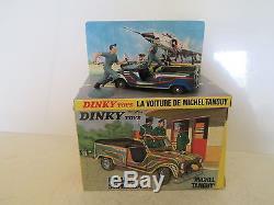 DINKY 1406 RENAULT SINPAR TANGUY LAVERDURE Military MIB UNCOMMON 9 EN BOITE L@@K