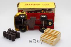 Dinky Toys 588 Camion Plateau Brasseur Berliet Meccano Avec Boite Boxed