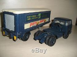 Dinky Toys Ancien Camion Unic Esterel Semi Promotionnel Pam Pam
