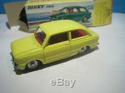 DINKY TOYS ANCIEN SUPERBE FIAT 850 PROCHE DU NEUF en BOITE #509