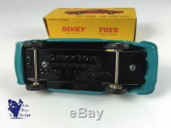 DINKY TOYS FRANCE 527 ALFA ROMEO 1900 TURQUOISE EPOQUE ET D'ORIGINE RARE COULEUR