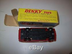 Dinky Toys France Alfa Romeo Giulia Rallye 1401 Superbe Etat + Boite No Atlas