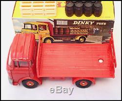 DINKY TOYS FRANCE BERLIET GAK 588K KRONENBOURG CAMION BRASSEUR ORIGINAL de 1970