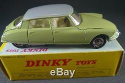 DINKY TOYS FRANCE. CITROEN DS 19. REF 530 + boite