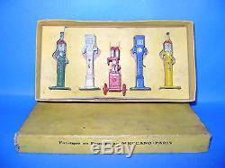 DINKY TOYS FRANCE-Coffret n°49 distributeurs d'essence d'origine