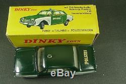 DINKY TOYS FRANCE. FORD TAUNUS POLIZEI. + Boite. REF 551