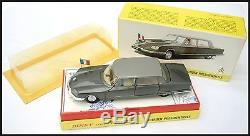Dinky Toys France N°1435 Citroen Ds Presidentielle Mib En Boite Originale 1970