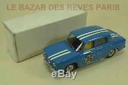 DINKY TOYS FRANCE. RENAULT 8 GORDINI. (promotionnel Renault) REF 1414 + boite