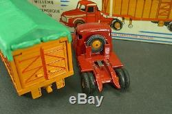 DINKY TOYS France. TRACTEUR WILLEME SEMI-REMORQUE. + boite. REF 36 B