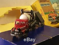 DINKY TOYS UNIC MULTIBENNE ET CITERNE 805 avec boîte AA++