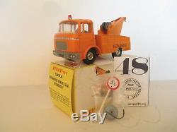 Dinky 589a Berliet Gak Depannage Breakdown Truck Uncommon Mib 9 En Boite L@@k