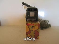 Dinky 806 826 Berliet Wrecker Military Truck Mib Rare Last Issue Very Nice L@@k