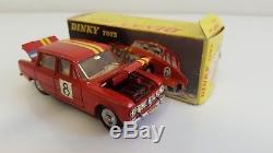 Dinky Toys 1401 Alfa Romeo Giulia 1600 TI Rallye' en B. O. (DTF, pas Atlas)