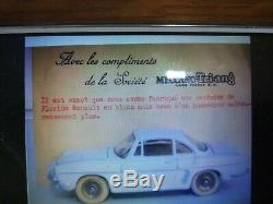 Dinky Toys 543 TRES TRES RARE RENAULT DAUPHINE BLANCHE