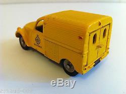 Dinky Toys 562 H Citroën 2 CV Wegenwacht (Originale Meccano France) N Mint