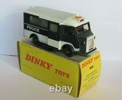 Dinky Toys 566 // Citroen Hy Police + Boite Et Notice // Origine Meccano