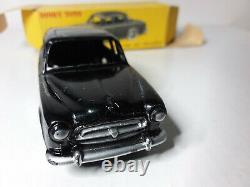 Dinky Toys Ancien #24b Superbe Peugeot 403 Berline Noire Dans Sa Boite D'origine