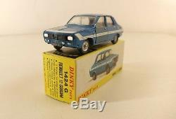Dinky Toys F n° 1424G Renault 12 Gordini en boite peu fréquent made in France