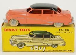 Dinky Toys France 24v Buick Roadmaster Saumon Toit Noir + Boite Original&ancien