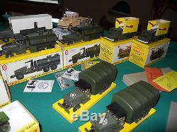 Dinky Toys Militaires Lot 56 Modeles Neufs Boites D'origine Etat Exceptionnel